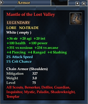 Mantle of the Lost Valley