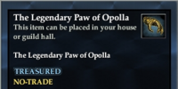 The Legendary Paw of Opolla