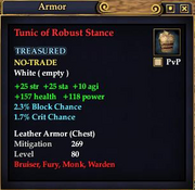 Tunic of Robust Stance