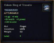 Oaken Ring of Trusaris