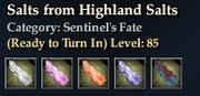 Salts from Highland Salts
