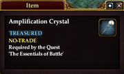 Amplification Crystal (Item)