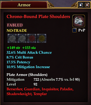 Chrono-Bound Plate Shoulders