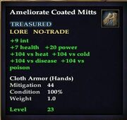Ameliorate Coated Mitts
