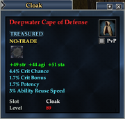 Deepwater Cape of Defense