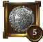 Achievement Icon Silver Shield 5