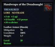 Handwraps of the Dreadnaught