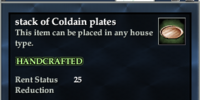 Stack of Coldain Plates