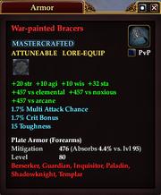 War-painted Bracers