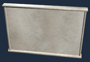 White Marble Divider (Visible)