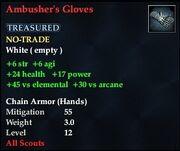 Ambusher's Gloves