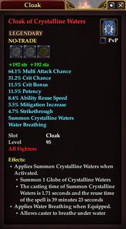 Cloak of Crystalline Waters (Fighter)