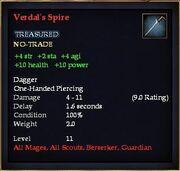 Verdal's Spire