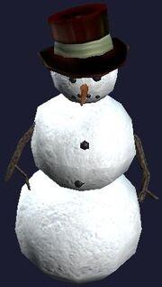 Joyless Snowman (Visible)