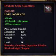 Drakota Scale Gauntlets