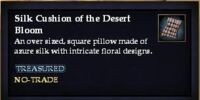 Silk Cushion of the Desert Bloom