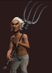 Trusty Pitchfork (Equipped)