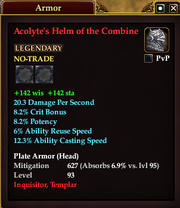 Acolyte's Helm of the Combine