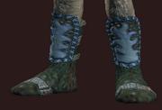 Hanshi's Balanced Foot Wraps (Equipped)