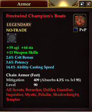 Frostwind Champion's Boots