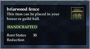 Briarwood Fence