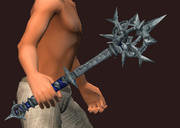 Mace of Arial Bombardment (Equipped)