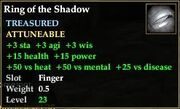 Ring of the Shadow