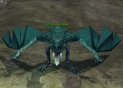 An azure drake