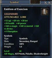 Emblem of Exorcism