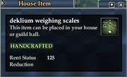 Deklium weighing scales