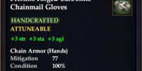Carbonite Chainmail Gloves