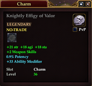 Knightly Effigy of Valor
