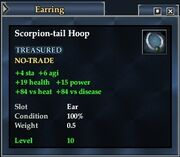 Scorpion-tail Hoop
