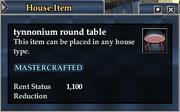 Tynnonium round table