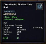 Disenchanted Shadow Eddy Staff