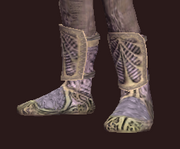 Spiritualist's Plane Strider Chain Boots (Equipped)