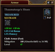 Thaumaturge's Shoes