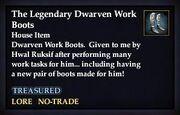 The Legendary Dwarven Work Boots