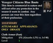Vesspyr Citizens Blue Boots