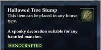 Hollowed Tree Stump