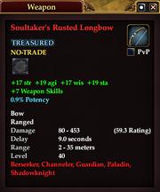 Soultaker's Rusted Longbow