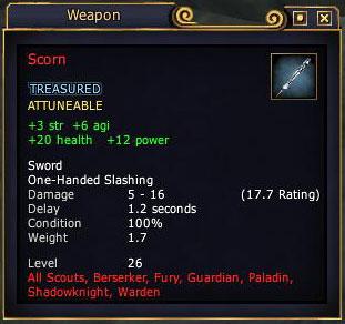 Scorn (item)