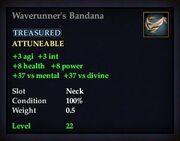 Waverunner's Bandana