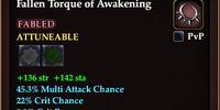 Fallen Torque of Awakening