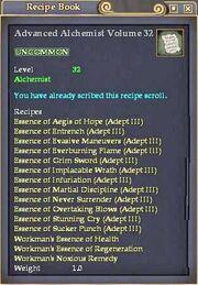 Advanced Alchemist Volume 32
