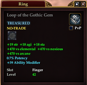 Loop of the Gothic Gem