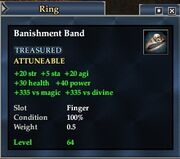 Banishment Band