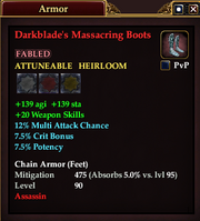 Darkblade's Massacring Boots