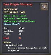 Dark Knight's Wristwrap