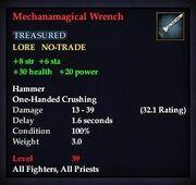 Mechanamagical Wrench